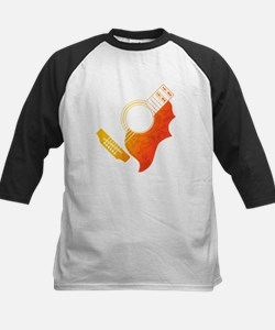 Guitar 3 Kids Baseball Jersey