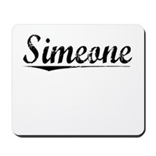 Simeone, Vintage Mousepad