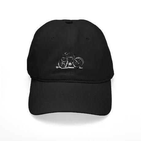 Bicycle Black Cap