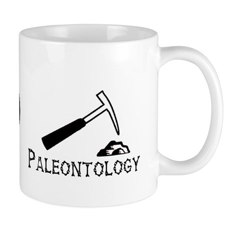 Peace. Love. Paleontology Mug