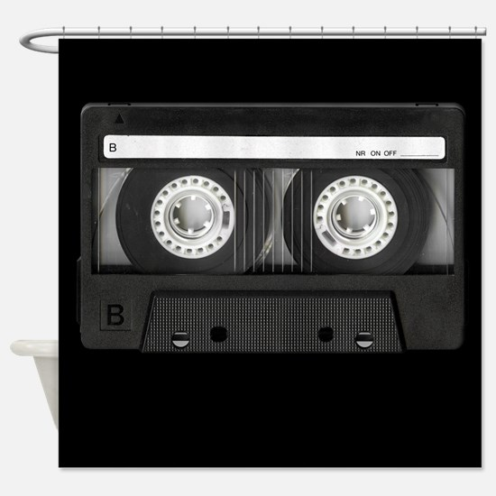 Cassette Shower Curtain