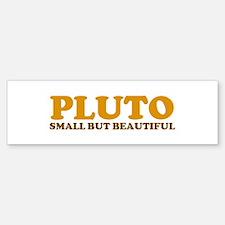 Beautiful Pluto Bumper Bumper Bumper Sticker