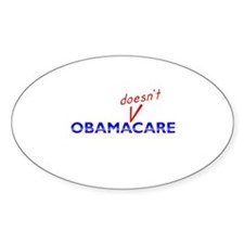Obama Doesn't Care Decal