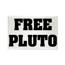 Free Pluto Rectangle Magnet