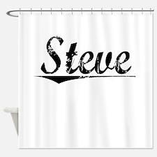 Steve, Vintage Shower Curtain