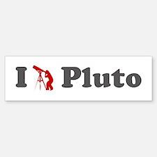 I Love Pluto Bumper Bumper Bumper Sticker