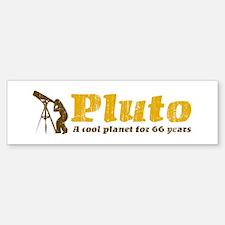 Pluto for 66 years Bumper Bumper Bumper Sticker