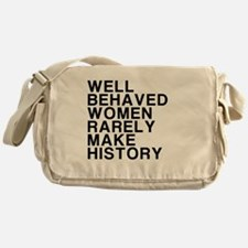 Women, Make History Messenger Bag