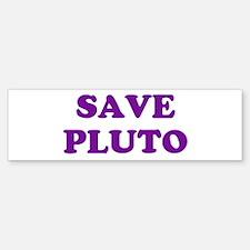 Save Pluto 2 Bumper Bumper Bumper Sticker
