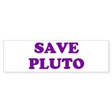 Save Pluto 2 Bumper Bumper Sticker