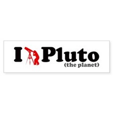 Pluto the Planet Bumper Bumper Sticker