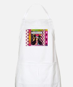 pharmacist black cat TOTE CP.PNG Apron
