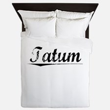 Tatum, Vintage Queen Duvet