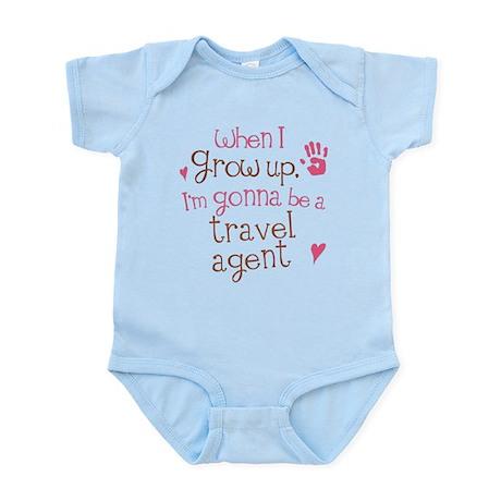 Kids Future Travel Agent Infant Bodysuit