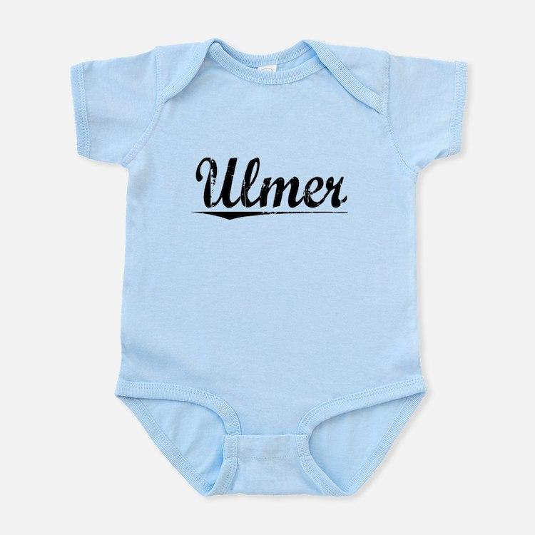 Ulmer, Vintage Infant Bodysuit