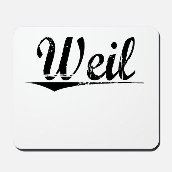 Weil, Vintage Mousepad