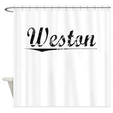 Weston, Vintage Shower Curtain