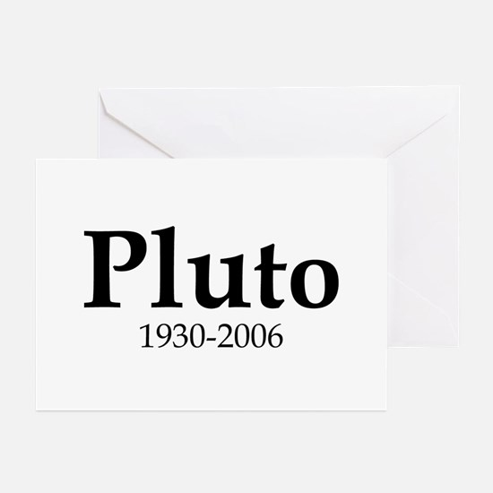 Pluto Dates Greeting Cards (Pk of 10)