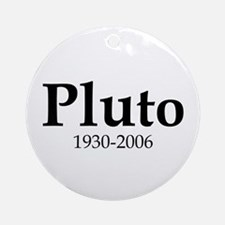 Pluto Dates Ornament (Round)