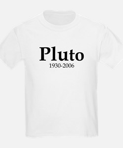 Pluto Dates Kids T-Shirt