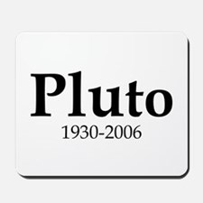 Pluto Dates Mousepad
