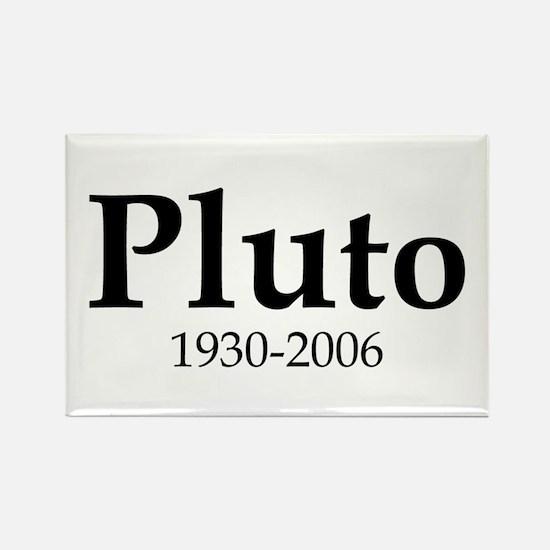 Pluto Dates Rectangle Magnet