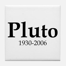 Pluto Dates Tile Coaster