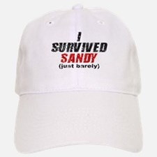 I Survived Sandy (just barely) Baseball Baseball Cap