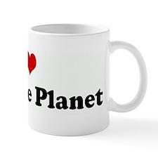 I Love Pluto the Planet Mug