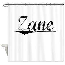 Zane, Vintage Shower Curtain