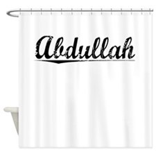 Abdullah, Vintage Shower Curtain