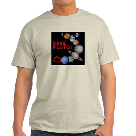 Save Pluto! Ash Grey T-Shirt