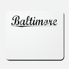 Baltimore, Vintage Mousepad
