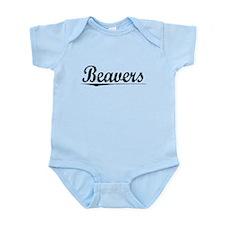 Beavers, Vintage Infant Bodysuit