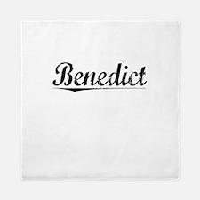 Benedict, Vintage Queen Duvet