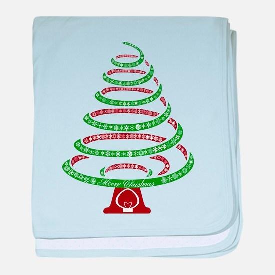 Christmas Tree baby blanket