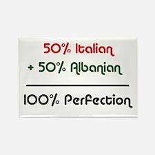Italian & Albanian Rectangle Magnet