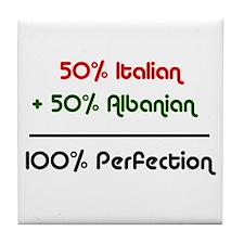 Italian & Albanian Tile Coaster