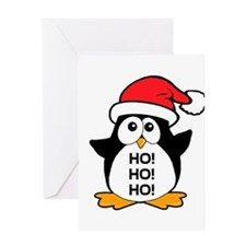 Cute Christmas Penguin Greeting Card