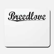 Breedlove, Vintage Mousepad