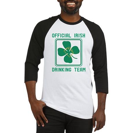 Official Irish drinking team Baseball Jersey