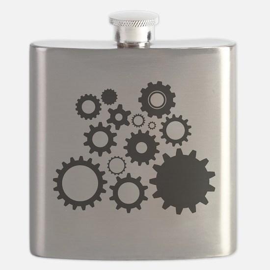 Cute Mechanics Flask