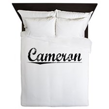 Cameron, Vintage Queen Duvet