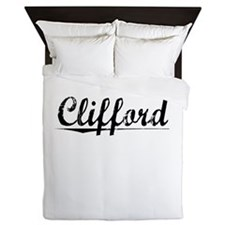 Clifford, Vintage Queen Duvet