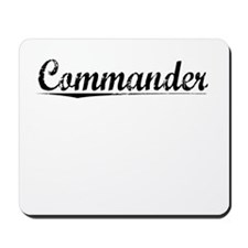 Commander, Vintage Mousepad