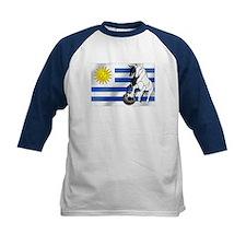 Uruguay Soccer Flag Tee