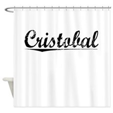 Cristobal, Vintage Shower Curtain