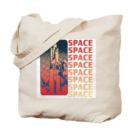 Space Shuttle Style Tote Bag