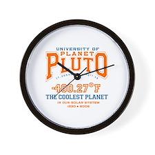 Pluto tshirts and gifts Wall Clock