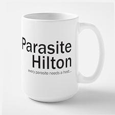 Parasite Hilton Ceramic Mugs